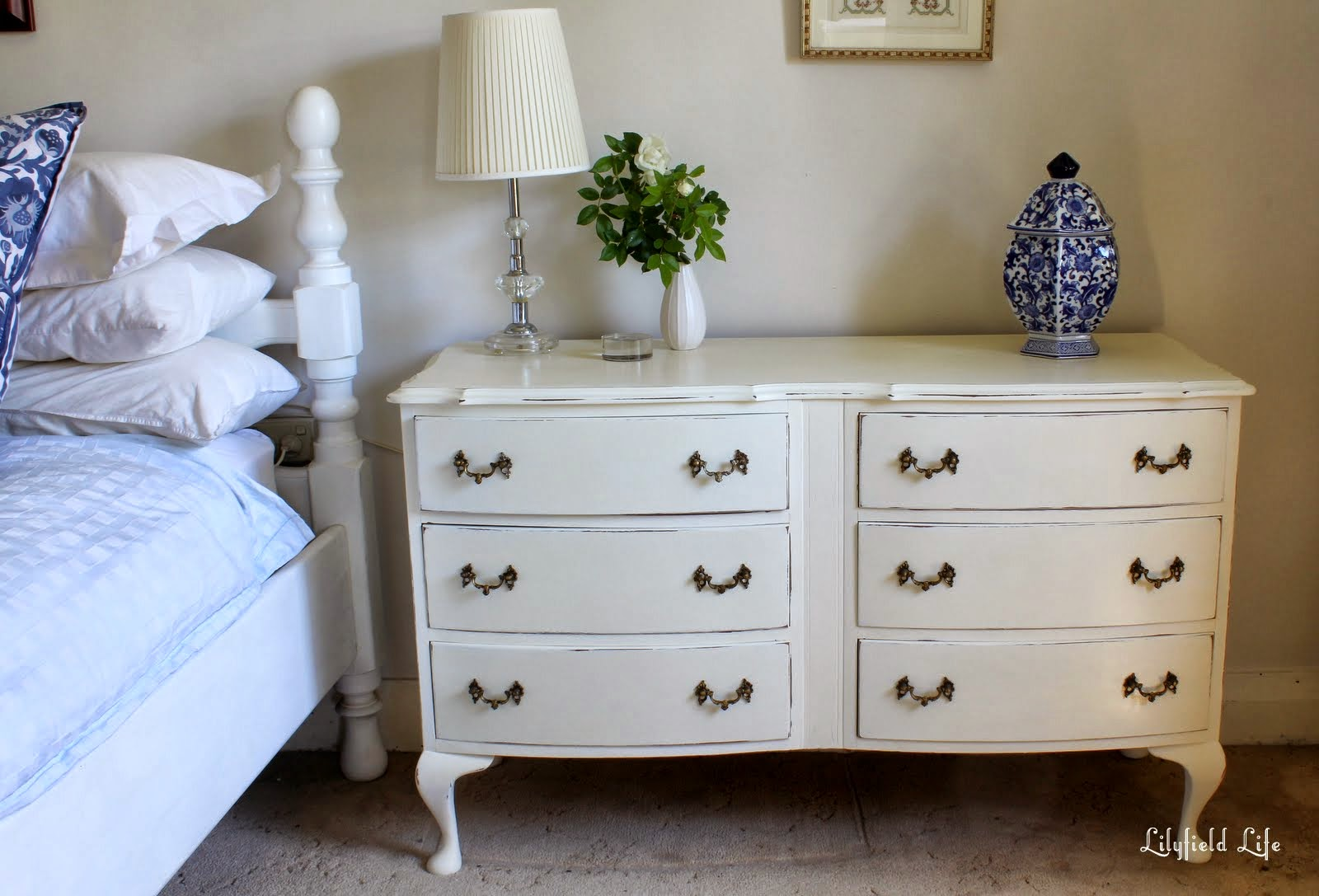 Lilyfield Life White French Style Chest Of Drawers