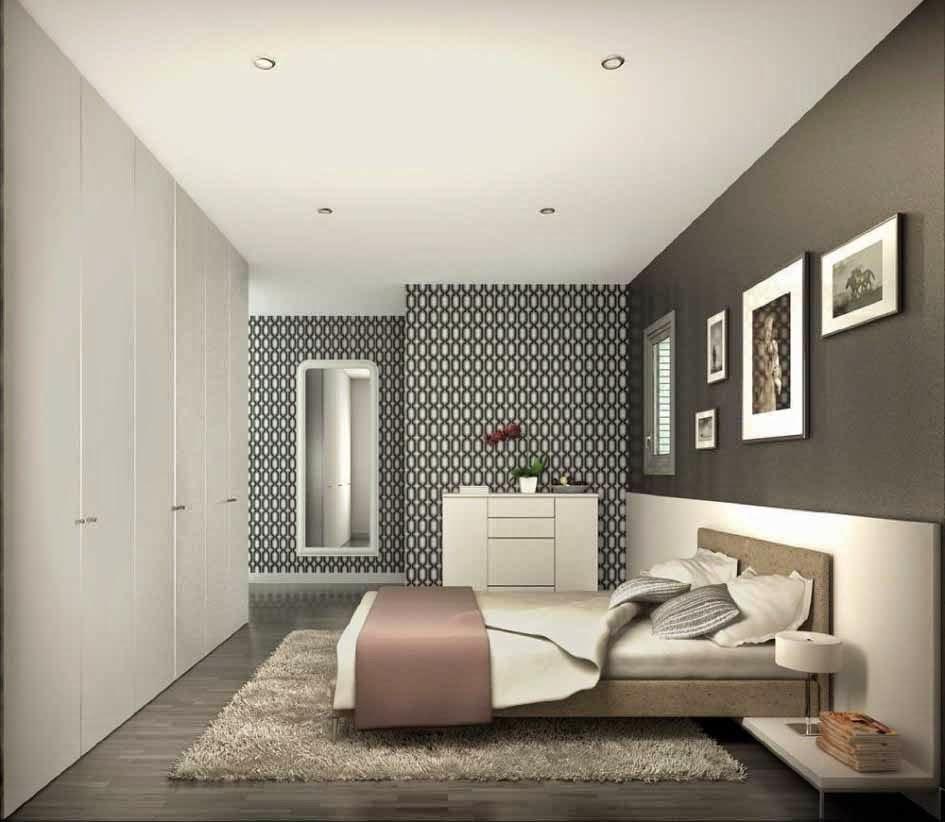 Foto Desain 3D Interior Rumah Minimalis Modern Sederhana 2017