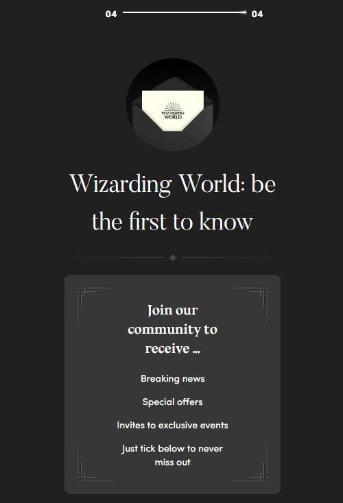 Como fazer o registro no Wizarding World Digital | Ordem da Fênix Brasileira