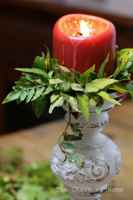 Fern Candle Rings: The Charm of Home