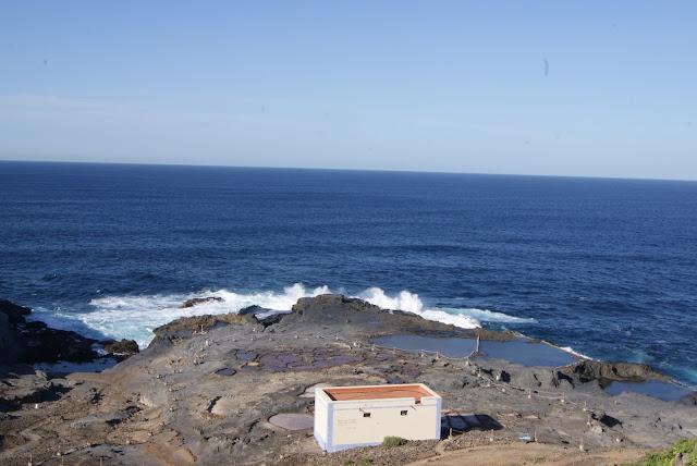 piscinas naturales del norte de Gran Canaria-las salinas del bufadero