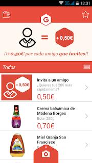 Aplicación Gelt las compras que te pagan dinero
