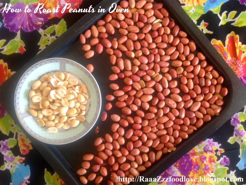 roast peanuts in oven