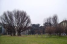 The Parco Guido Vergani is a park established on former industrial land in the heart of Milan
