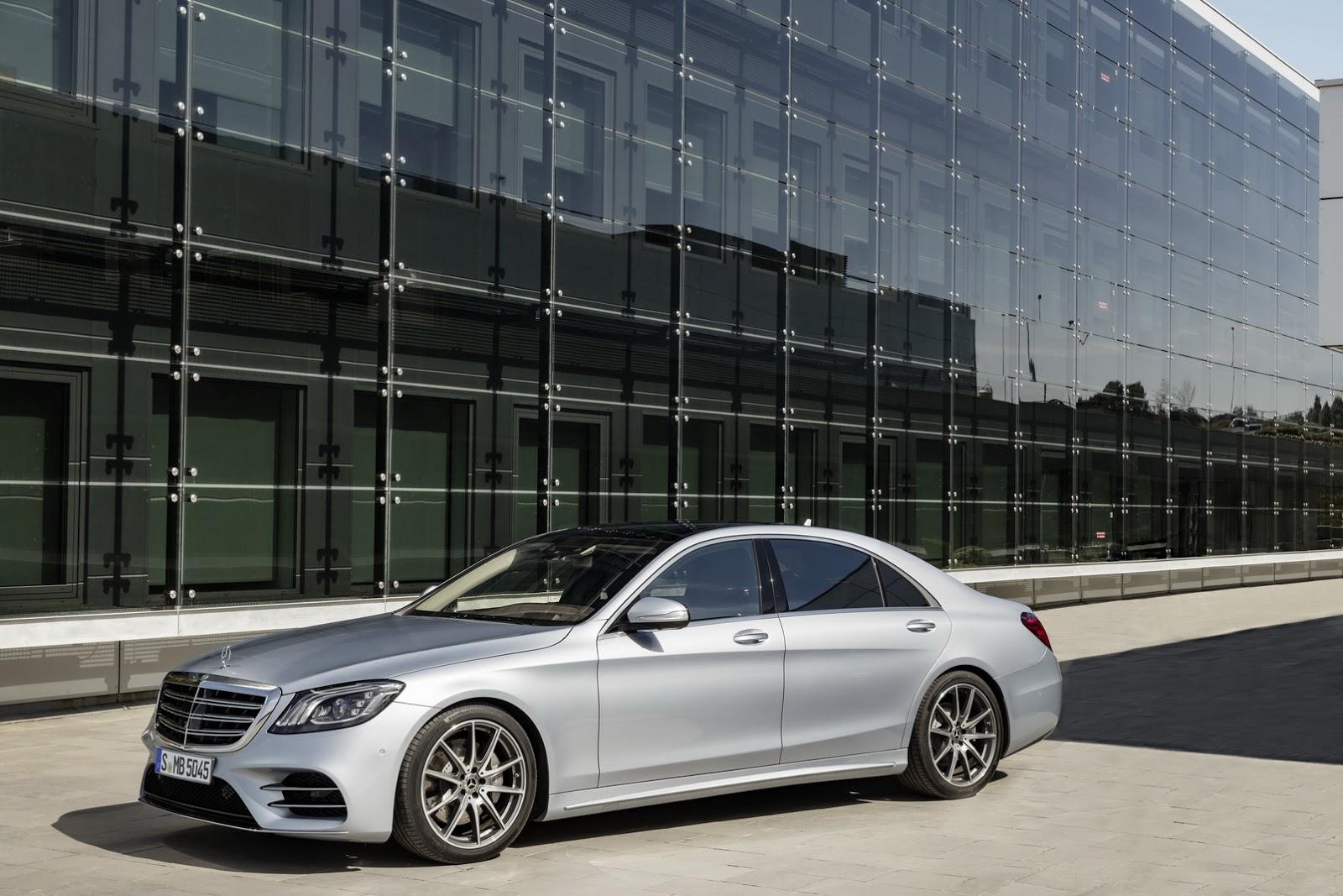 Mercedes s class to get level 3 autonomous driving for Mercedes benz autonomous driving