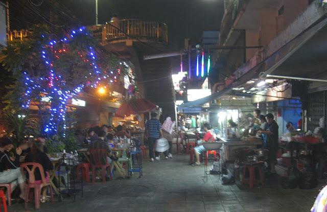 Weihnachtsstimmung in Bangkok 2012