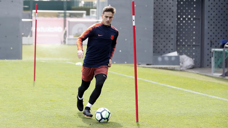 72bb17fca5b2 New Name - Barcelona and Real Madrid Stars Train in All-New Nike ...