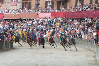 Photo of the Palio di Siena