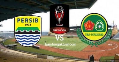 Jadwal Kick-off Persib Bandung vs PS Tira Persikabo Dimajukan