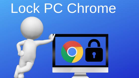अपने Laptop या PC के Chrome browser में  password लगाएं।