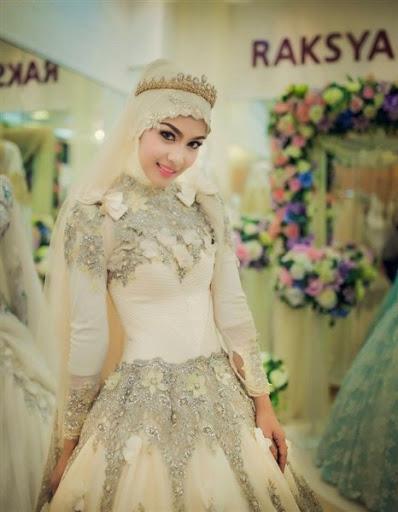 Contoh Baju Kebaya Pengantin Muslim Desain Modern Modis Dan Elegan