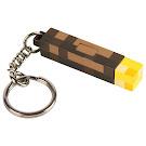 Minecraft Light-Up Torch Key Chain Jinx Item