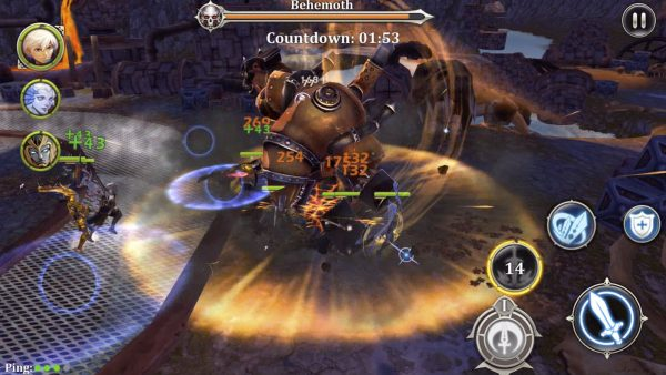Heroes Of Skyrealm MOD Unlimited Cash Money Apk Android Latest Version Terbaru Download Gratis