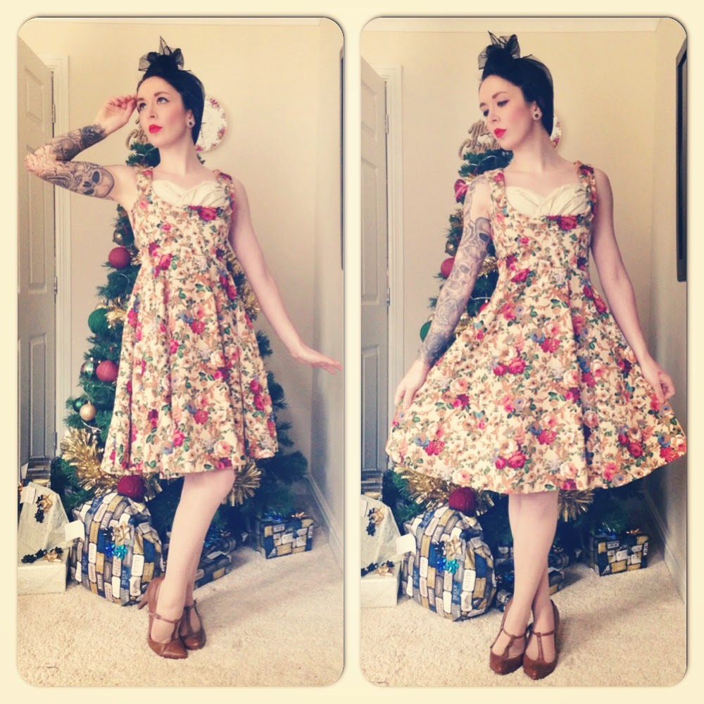 Ophelia dress from Lindy Bop