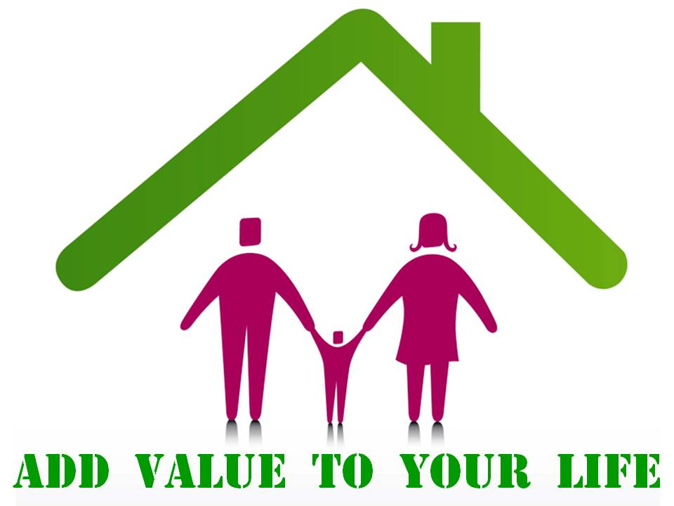 Add Value To Your House Life Clip Art Family