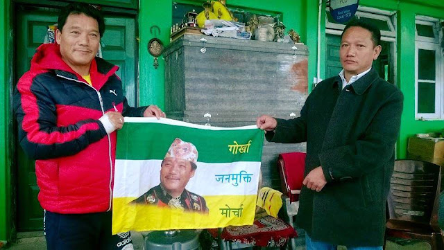 Ghisingh's closest aide Mani Gurung joins GJM