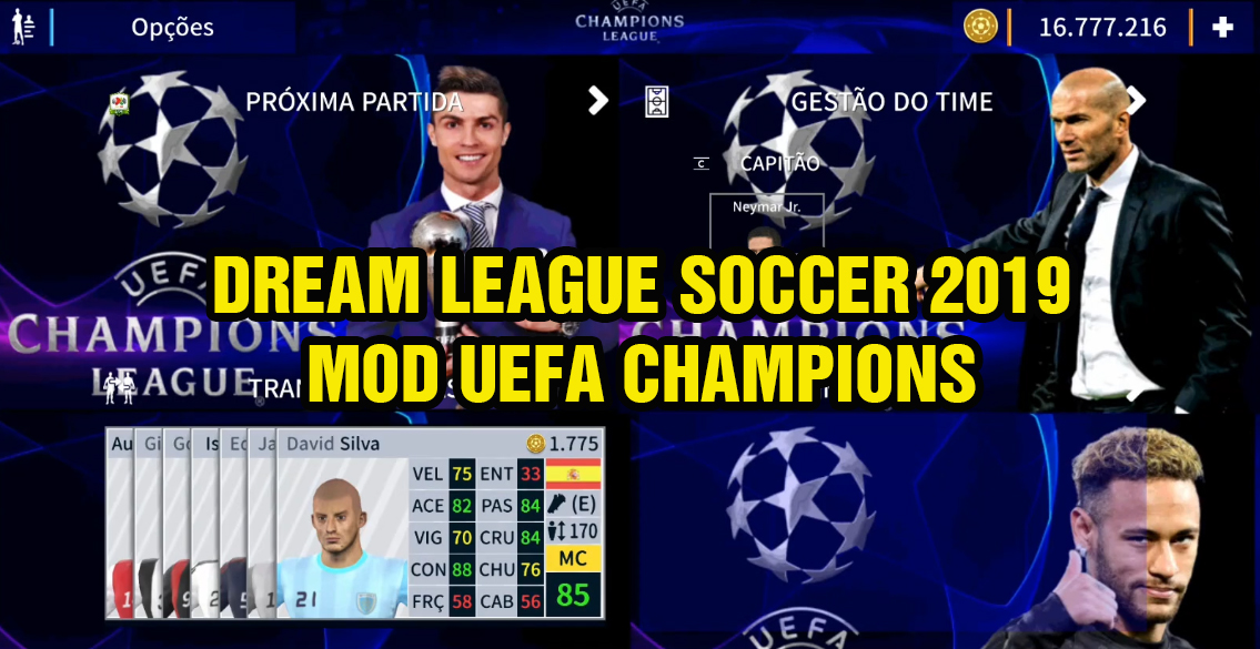 Dream League Soccer 2019 MOD UEFA Champions League