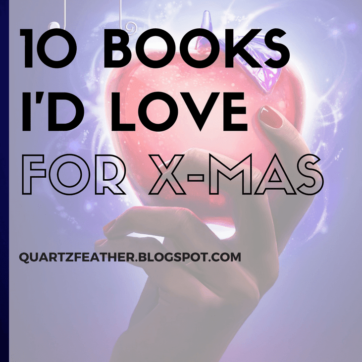 10 Books I'd Love for X-Mas