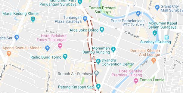 Tempat Sewa Proyektor dan Screen layanni daerah Jalan Basuki Rachmat, Surabaya
