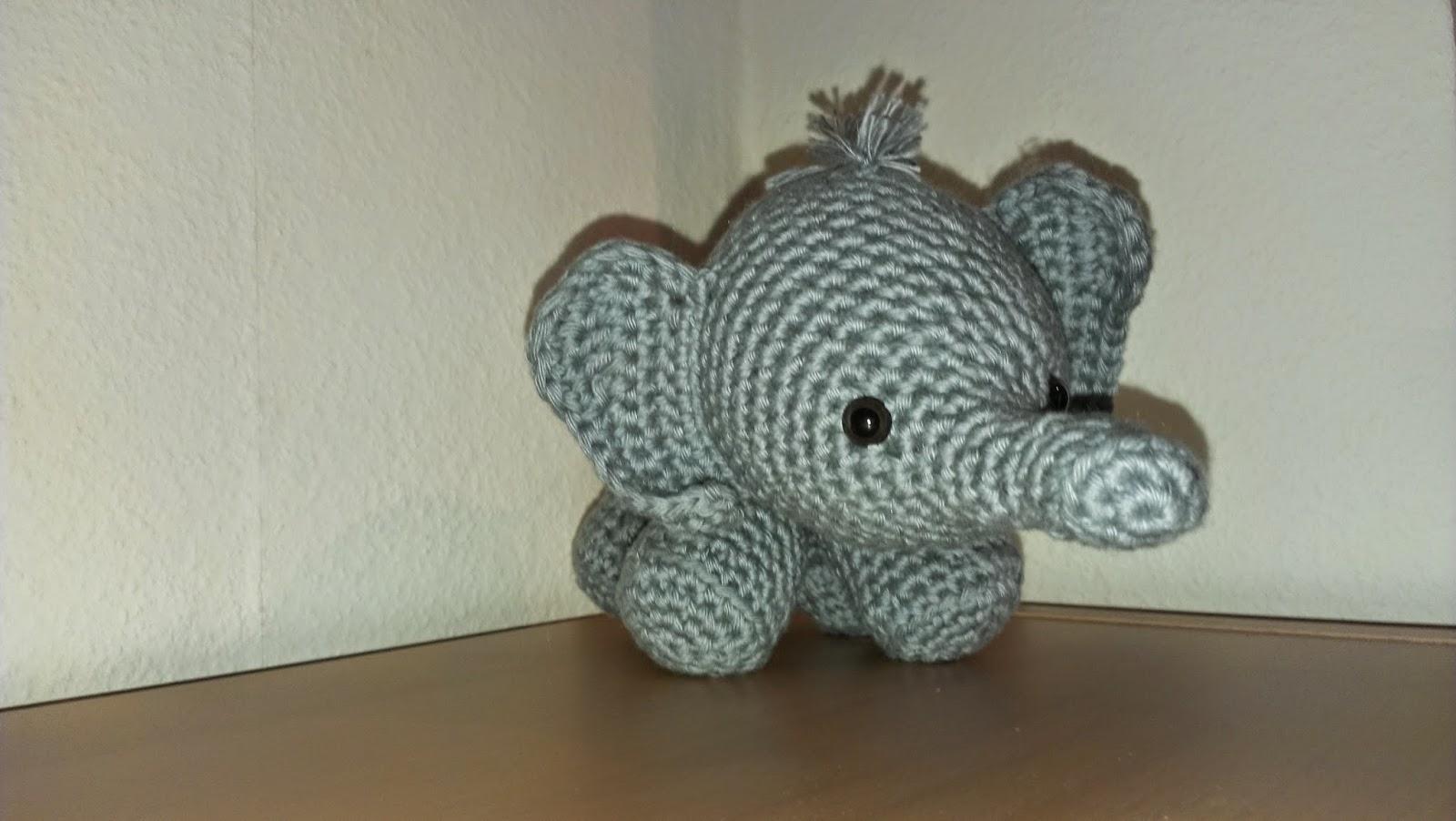 Wundervolle Amigurumi Welt Elefant