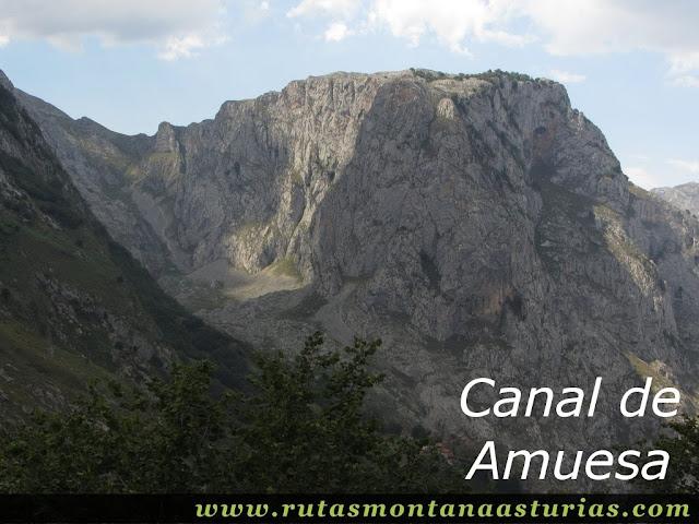 Ruta Caín Terenosa: Canal de Amuesa