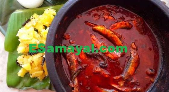 கேரளா ஸ்டைல் மத்தி மீன் குழம்பு