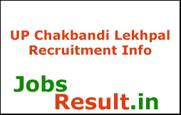 UP Chakbandi Lekhpal Recruitment Info