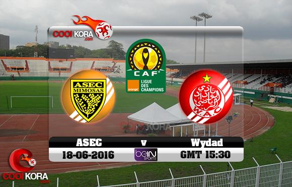 مشاهدة مباراة الوداد وأسيك ميموزا اليوم 18-6-2016 دوري أبطال أفريقيا