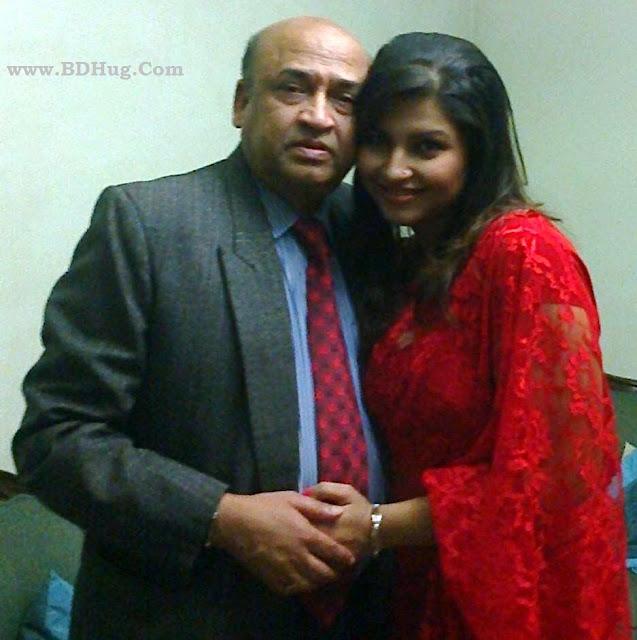 Nowrin Hasan Khan Jenny Bangladeshi Actress Biography, Photos With Her Father