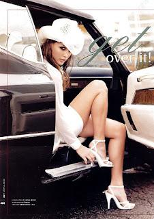 Josie Maran Smooth Legs In White Sandals