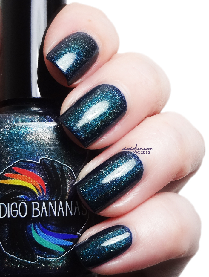 xoxoJen's swatch of Indigo Bananas Do Your Duty