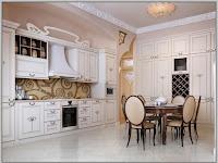 Fliesen Küche Wand Landhaus