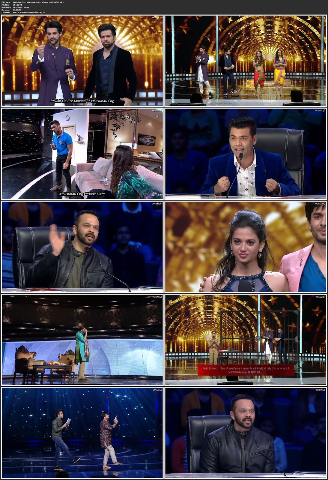 Indias Next Superstars 24th March 2018 HDTV 480p 250MB Download