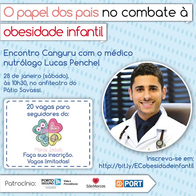 O papel dos pais no combate à obesidade infantil, obesidade infantil, Canguru BH, Mamãe Sortuda, Lucas Penchel, nutrição infantil