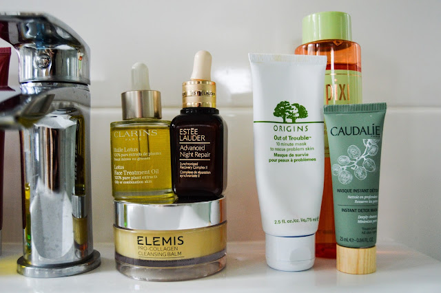 Spa Skincare Treatment at Home Clarins, Elemis, Estee Lauder