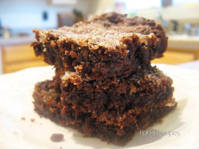 Chocolate PB & B Brownies by Raia's Recipes
