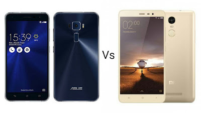 Asus Zenfone 3 Vs Xiaomi Redmi Note 3