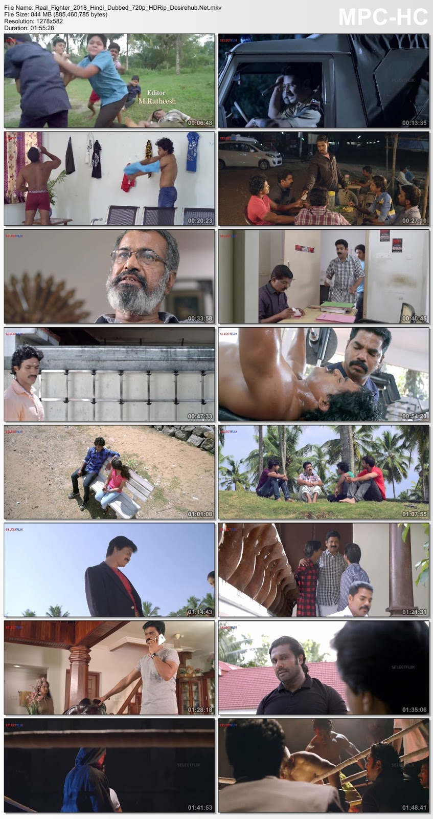 The Real Fighter 2018 Hindi Dubbed 720p HDRip 850MB Desirehub