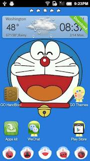 Doraemon Theme GO Launcher EX