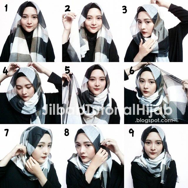 Tutorial Cara Memakai Style Hijab Pashmina 2016