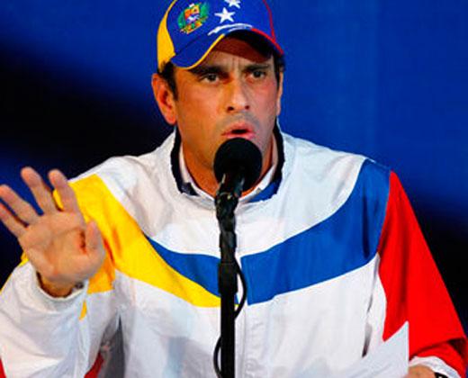 Capriles: Maduro no prende ni el motor de una lavadora