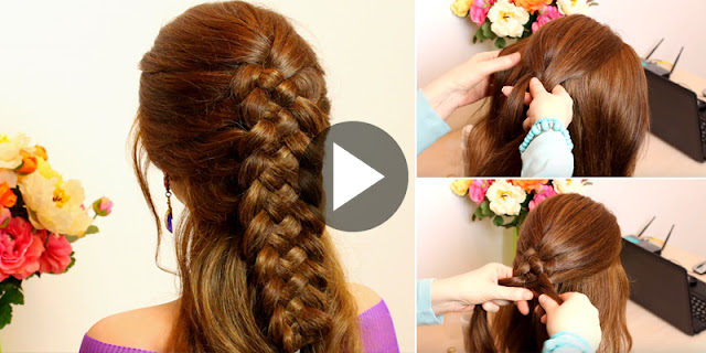 Learn - How To Make Simple And Easy 5 Strands Braid