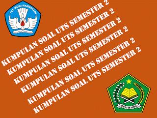 Kumpulan UTS SD Kelas 1 2 3 4 5 6 Lengkap Format Words