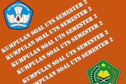Soal-Soal UTS SD Kelas 1 2 3 4 5 6 Lengkap Format Words