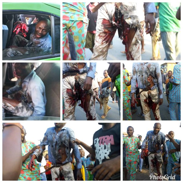 """Video emerges from the """"Bloodshed in Ado Ekiti yesterday as Fayemi and his APC invaded Ekiti with thugs"""""""