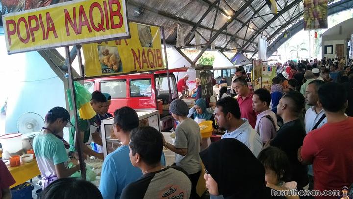 Popia Naqib Bazar Ramadan Arena Square Kuala Kangsar Perak