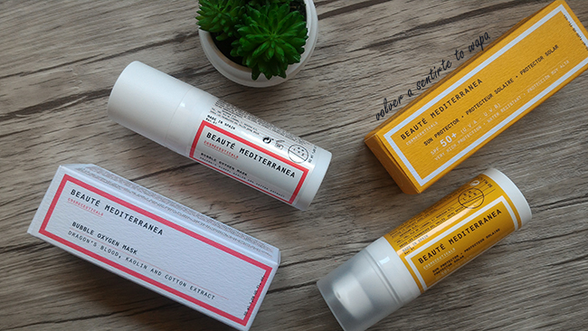 Productos de Beauté Mediterránea: Dragon's Blood y Protector Solar