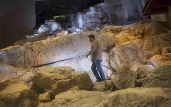 Ruinas del castillo del rey David