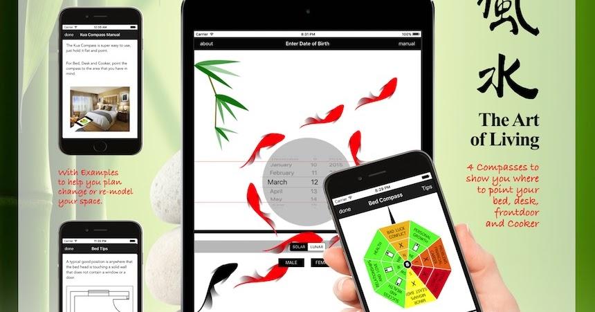 Feng Shui Kua Compass: The All in One Feng Shui Kua Compass App