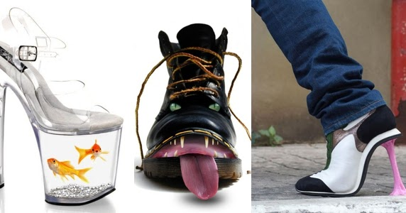 World S Most Hilarious Shoes Omg Love Beauty